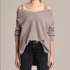 AllSaints Dasha V-neck Sweater (S)
